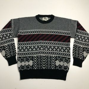 Vintage Expressions Knit Sweater Womens Medium